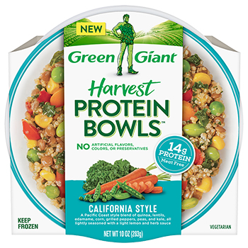 the Dr. Gourmet tasting panel reviews the Asian Style Harvest Protein Bowl from Green Giant
