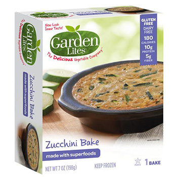 Dr. Gourmet reviews the Zucchini Bake and the Spinach Bake from Garden Lites