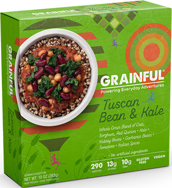Dr. Gourmet reviews the Tuscan Bean and Kale bowl from Grainful