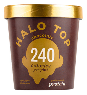 Dr. Gourmet reviews Chocolate Ice Cream from Halo Top Creamery