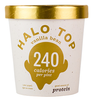 Dr. Gourmet reviews Vanilla Ice Cream from Halo Top Creamery