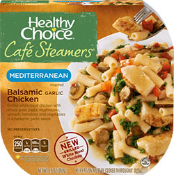 Dr. Gourmet Reviews Balsamic Garlic Chicken from Healthy Choice