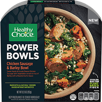 Dr. Gourmet reviews the Chicken Sausage & Barley Bowl from Healthy Choice's Power Bowls line.