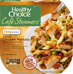 Dr. Gourmet Reviews the Grilled Chicken Marsala with Mushrooms from Healthy Choice