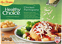 Dr. Gourmet Reviews Chicken Parmigiana from Healthy Choice's Complete Meals Line