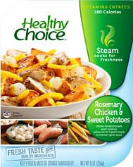 Healthy Choice Chicken & Sweet Potatoes
