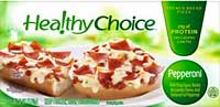 Healthy Choice Pepperoni French Bread Pizza