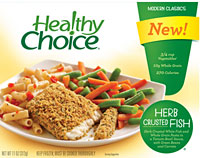 Healthy Choice Herb Crusted Fish
