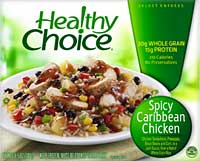 Healthy Choice Spicy Caribbean Chicken