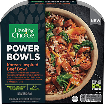 Power Bowls Korean Inspired Beef Bowl And Cuban Inspired Pork Bowl From Healthy Choice