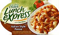 Healthy Choice Lunch Express Italian Style Penne Review