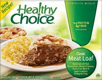 Healthy Choice Meat Loaf