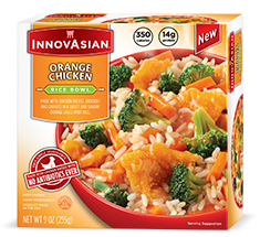 Dr. Gourmet reviews the Orange Chicken from InnovAsian