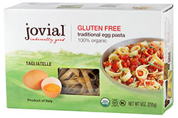 Dr. Gourmet Reviews Jovial Foods' Tagliatelle Gluten-Free Pasta
