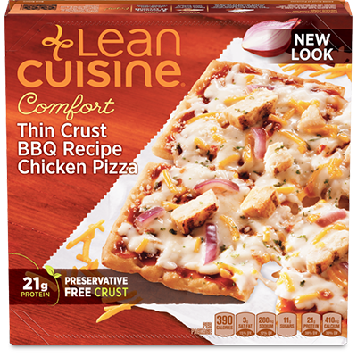 Dr. Gourmet reviews the Thin Crust BBQ Recipe Chicken Pizza from Lean Cuisine