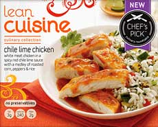 Lean Cuisine Chile Lime Chicken Review by Dr. Gourmet