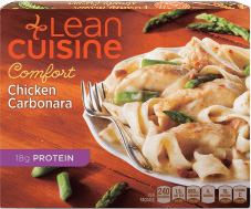 Dr. Gourmet reviews Chicken Carbonara from Lean Cuisine