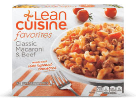 Lean Cuisine Macaroni and Beef