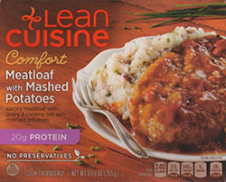 Dr. Gourmet returns to re-review Lean Cuisine's Meatloaf with Mashed Potatoes