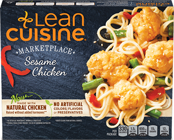Dr. Gourmet reviews the Sesame Chicken from Lean Cuisine's Marketplace line