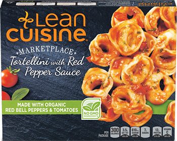 The Dr. Gourmet tasting panel reviews the Tortellini with Red Pepper Sauce from Lean Cuisine