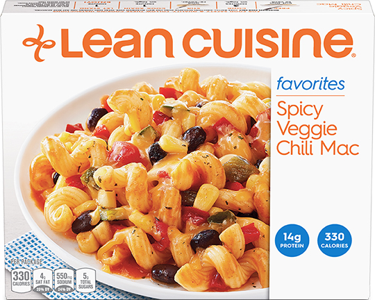 The Dr. Gourmet tasting panel reviews the Spicy Veggie Chili Mac from Lean Cuisine