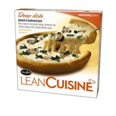 Lean Cuisine Spinach and Mushroom Pizza