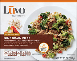 Dr. Gourmet Reviews the Nine Grain Pilaf from Luvo