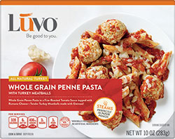 Dr. Gourmet Reviews the Whole Grain Penne Pasta from Luvo