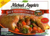 Michael Angelo's Beef & Vegetable Gnocchi Pie