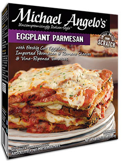 Michael Angelo's Eggplant Parmesan Reviewed by Dr. Gourmet