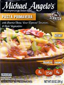 Michael Angelo's Pasta Primavera Review by Dr. Gourmet