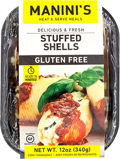 Dr. Gourmet reviews Manini's Gluten Free Stuffed Shells