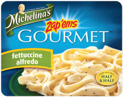 Michelina's Fettuccine Alfredo Reviewed by Dr. Gourmet
