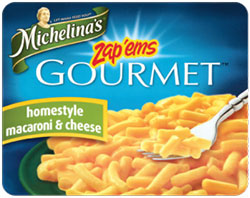 Michelina's Homestyle Macaroni & Cheese Reviewed by Dr. Gourmet