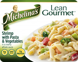 Dr. Gourmet reviews Shrimp with Pasta and Vegetables from Michelina's Lean Gourmet line
