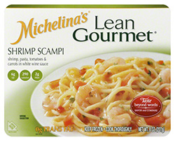 Dr. Gourmet reviews Shrimp Scampi from Michelina's Lean Gourmet line