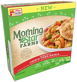 Dr. Gourmet reviews the Chick'n Tikka Masala from Morningstar Farms.