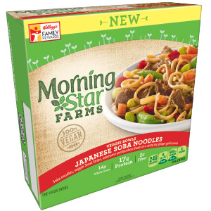 Dr. Gourmet reviews the Japanese Soba Noodles from MorningStar Farms