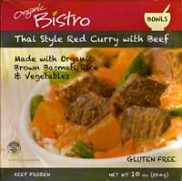 Organic Bistro Thai Red Curry with Beef