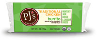 PJ's Traditional Chicken Burrito