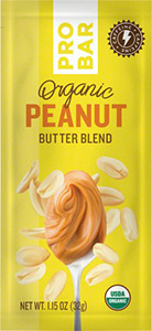 Dr. Gourmet reviews the organic peanut butter blend from Probar, available in convenient packets