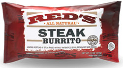 Red's All Natural Steak Burrito Review by Dr. Gourmet