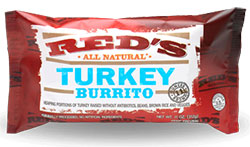 Red's All Natural Turkey Burrito Review by Dr. Gourmet