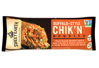 Dr. Gourmet reviews the Buffalo Chik'n Burrito from Sweet Earth Foods