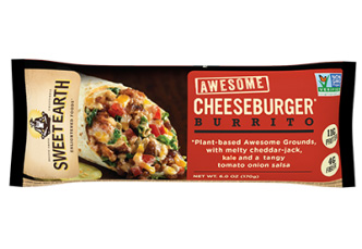 Dr. Gourmet reviews the Awesome Cheeseburger Burrito from Sweet Earth Foods