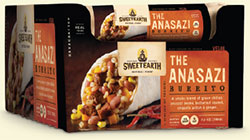 Dr. Gourmet Reviews The Anasazi Burrito from Sweet Earth Natural Foods
