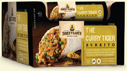 Dr. Gourmet Reviews The Curry Tiger Burrito from Sweet Earth Natural Foods