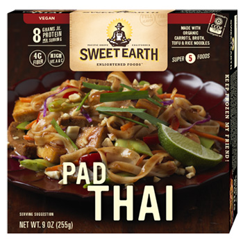 Dr. Gourmet reviews the Pad Thai meal from Sweet Earth Foods.