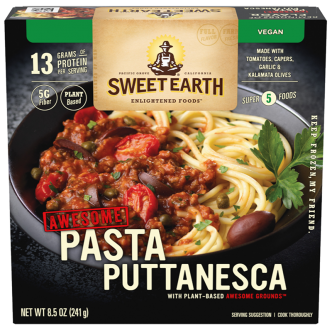 Dr. Gourmet reviews the Pasta Puttanesca from Sweet Earth Foods